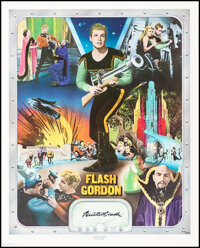 Buster Crabbe as Flash Gordon (Nostalgia Merchant, 1977). Very Fine-. Autographed and Hand Numbered Limited Edition Prin...