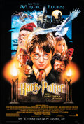 """Movie Posters:Fantasy, Harry Potter and the Sorcerer's Stone (Warner Bros., 2001). Rolled, Very Fine. One Sheet (27"""" X 40"""") DS, Advance. Fan..."""