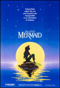 """Movie Posters:Animation, The Little Mermaid (Buena Vista, 1989). Rolled, Very Fine+. One Sheet (27"""" X 41"""") DS Teaser, John Alvin Artwork. Animation...."""
