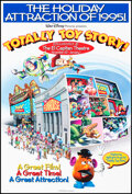 """Movie Posters:Animation, Totally Toy Story (Buena Vista, 1995). Rolled, Very Fine+. Special One Sheet (27"""" X 40"""") DS Advance. Animation.. ..."""