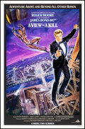 """Movie Posters:James Bond, A View to a Kill (United Artists, 1985). Rolled, Very Fine+. One Sheet (27"""" X 41"""") SS Advance, Dan Goozee Artwork. James Bon..."""