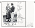 """Movie Posters:Comedy, Annie Hall (United Artists, 1977). Rolled, Very Fine+. Half Sheet (22"""" X 28""""). Comedy.. ..."""