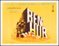 Movie Posters:Academy Award Winners, Ben-Hur (MGM, 1960). Rolled, Very Fine+. Half Shee...