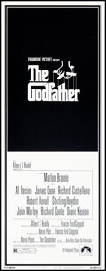 """Movie Posters:Crime, The Godfather (Paramount, 1972). Rolled, Very Fine+. Insert (14"""" X 36"""") S. Neil Fujita Artwork. Crime.. ..."""
