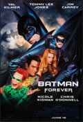 """Movie Posters:Action, Batman Forever (Warner Bros., 1995). Rolled, Very Fine+. One Sheets (5) Identical (27"""" X 40"""") SS, John Alvin and Page Wood A... (Total: 5 Items)"""