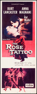 """Movie Posters:Drama, The Rose Tattoo (Paramount, 1955). Rolled, Fine/Very Fine. Insert (14"""" X 36""""). Drama.. ..."""