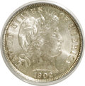 Barber Dimes, 1902 10C MS65 PCGS. PCGS Population (17/15). NGC Census: (19/10).Mintage: 21,380,776. Numismedia Wsl. Price for NGC/PCGS c...