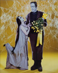 Movie/TV Memorabilia:Photos, Set of (2) TV Guide Cover Photos for The Munsters and