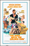 """Movie Posters:James Bond, The Man with the Golden Gun (United Artists, 1974). Folded, Very Fine+. One Sheet (27"""" X 41"""") Robert McGinnis Artwork. James..."""