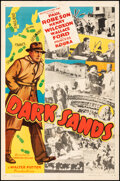 Movie Posters:Adventure, Dark Sands (Record Pictures, 1938). Folded, Fine+....