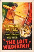 """Movie Posters:Action, The Last Wilderness (DuWorld, 1935). Folded, Fine/Very Fine. One Sheet (27"""" X 41""""). Action.. ..."""