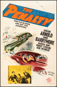 """The Penalty (MGM, 1941). Folded, Fine-. One Sheet (27"""" X 41""""). Crime"""