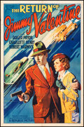 """Movie Posters:Crime, The Return of Jimmy Valentine (Republic, 1936). Folded, Fine+. One Sheet (27"""" X 41""""). Crime.. ..."""