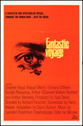 """Movie Posters:Science Fiction, Fantastic Voyage (20th Century Fox, 1966). Folded, Fine/Very Fine. One Sheet (27"""" X 41""""). Science Fiction.. ..."""