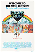 """Movie Posters:Science Fiction, Logan's Run (MGM, 1976). Folded, Fine/Very Fine. One Sheet (27"""" X 41"""") Charles Moll Artwork. Science Fiction.. ..."""