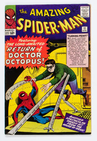 The Amazing Spider-Man #11 (Marvel, 1964) Condition: Apparent VG
