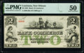 New Orleans, LA- Bank of Commerce $2 May 5, 1862 G48a PMG About Uncirculated 50