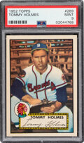 Baseball Cards:Singles (1950-1959), 1952 Topps Tommy Holmes #289 PSA Mint 9 - None Higher....