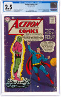 Silver Age (1956-1969):Superhero, Action Comics #242 (DC, 1958) CGC GD+ 2.5 Off-white pages....