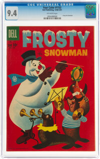Four Color #1153 Frosty the Snowman (Dell, 1961) CGC NM 9.4 Off-white pages