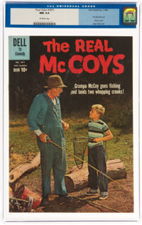 Four Color #1071 The Real McCoys (Dell, 1960) CGC NM 9.4 Off-white pages