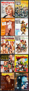 """Movie Posters:Miscellaneous, Hollywood Nostalgia Magazine Lot (Various, 1954-1982). Fine/Very Fine. Magazines (18) (Multiple Pages, Approx. 8.5"""" X 10"""") J... (Total: 18 Items)"""