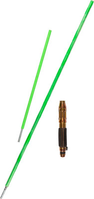 """Samuel L. Jackson """"Mace Windu"""" Hero Lightsaber with Blades from Star Wars Episode 3: Revenge of the Sith"""