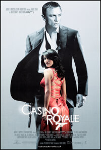 """Casino Royale (MGM, 2006). Rolled, Very Fine/Near Mint. British One Sheet (27"""" X 40"""") DS. James Bond"""
