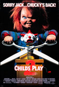 """Movie Posters:Horror, Child's Play 2 & Other Lot (Universal, 1990). Rolled, Very Fine-. One Sheets (2) (27"""" X 40"""") DS. Horror.. ... (Total: 2 Items)"""