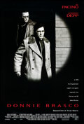 """Movie Posters:Crime, Donnie Brasco (Tri-Star, 1997). Rolled, Very Fine-. One Sheet (27"""" X 41"""") DS. Crime.. ..."""