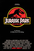 Movie Posters:Science Fiction, Jurassic Park (Universal, 1993). Rolled, Very Fine-.
