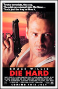 Movie Posters:Action, Die Hard (20th Century Fox, 1988). Rolled, Very Fine.