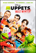 """Movie Posters:Comedy, Muppets Most Wanted (Walt Disney Pictures, 2014). Rolled, Very Fine+. One Sheet (27"""" X 41"""") DS Advance. Comedy.. ....."""