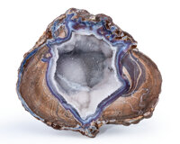 Dugway Agate Geode Dugway geode beds Dugway Pass area, Juab Co. Utah, USA 5.79 x 5.47 x 1.99 inches (14.70