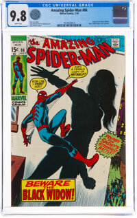 The Amazing Spider-Man #86 (Marvel, 1970) CGC NM/MT 9.8 White pages