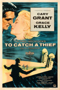 Movie Posters:Hitchcock, To Catch a Thief (Paramount, 1955). Fine/Very Fine on Line...