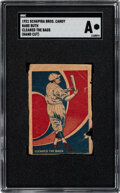Baseball Cards:Singles (Pre-1930), 1921 Schapira Bros. Babe Ruth (Cleared the Bags) SGC Authe...