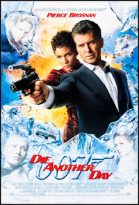 """Die Another Day (MGM, 2002). Rolled, Very Fine+. One Sheets (2) (27"""" X 40"""") DS. James Bond. ... (Total: 2 Item..."""