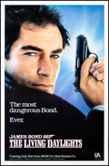 """Movie Posters:James Bond, The Living Daylights (United Artists, 1987). Rolled, Very Fine-. One Sheet (27"""" X 41"""") SS. James Bond.. ..."""