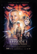 """Movie Posters:Science Fiction, Star Wars: Episode I - The Phantom Menace (20th Century Fox, 1999). Rolled, Very Fine+. One Sheet (26.75"""" X 39.75"""") S..."""