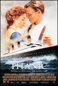 """Movie Posters:Drama, Titanic (20th Century Fox, 1997). Rolled, Very Fine. One Sheet & International One Sheet (26.75"""" X 39.75"""") DS Advance..."""