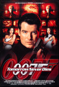 """Movie Posters:James Bond, Tomorrow Never Dies (United Artists, 1997). Rolled, Very Fine. One Sheets (2) (27"""" X 40"""") DS. James Bond.. ... (Total: 2 Items)"""