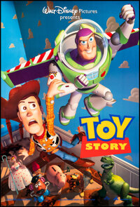 """Toy Story (Buena Vista, 1995). Rolled, Very Fine+. One Sheet (27"""" X 40"""") DS. Animation"""