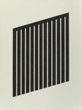 Prints & Multiples, Donald Judd (1928-1994). Untitled, 1978-79. Aquatint on wove paper. 40 x 29-1/2 inches (101.6 x 74.9...