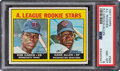 Baseball Cards:Singles (1970-Now), 1967 Topps Rod Carew - A.L. Rookie Stars #569 PSA NM-MT 8....