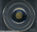California Fractional Gold: , 1870 Liberty Round 25 Cents, BG-808, R.3, MS64 PCGS. ...
