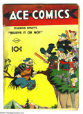 Golden Age (1938-1955):Humor, Ace Comics #3 (David McKay Publications, 1937) Condition: GD. Featuring Jungle Jim by Alex Raymond, the Katzenjammer Kids, a...