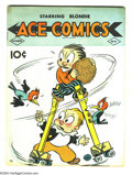 Golden Age (1938-1955):Cartoon Character, Ace Comics #31 (David McKay Publications, 1939) Condition: VG/FN.Featuring the Phantom, Blondie, Krazy Kat, Prince Valiant,...