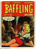Golden Age (1938-1955):Horror, Baffling Mysteries #8 (Ace, 1952) Condition: FR. Lou Cameron art(in a Wally Wood-like style). Overstreet 2003 GD 2.0 value ...