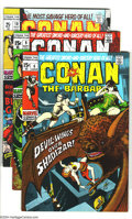 Bronze Age (1970-1979):Miscellaneous, Conan the Barbarian Group (Marvel, 1971-73) Condition: Average VF+.Barry Windsor Smith art. The first appearance of Red Son... (Total:5 Comic Books Item)